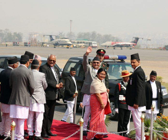 KP OLI - FRANCE - NEPAL